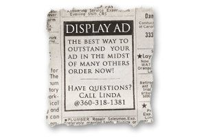 Classified Advertising Mini Display